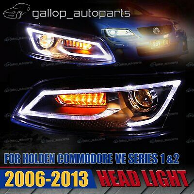 2 x Fit For HILUX H4 LED UPGRADE HEAD LIGHT 5X7INCH HEADLIGHT REPLACEMENT