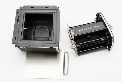 HASSELBLAD A24 6x6 Chrome Roll Film Back Matched Ser# Great Condition LOOK 988