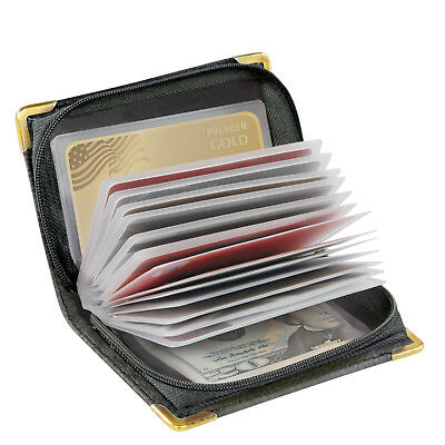 RFID Zip-Up Security Wallet