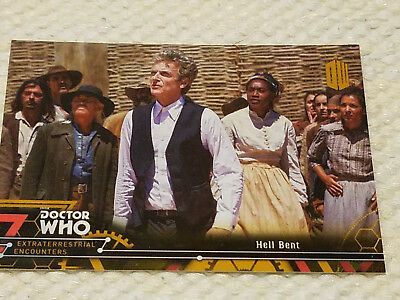 Doctor Who Extraterrestrial encounters GOLD  card 1 of 1 twelfth doctor