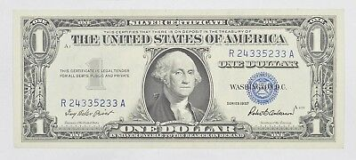 Crisp - 1957 United States Dollar Currency $1.00 Silver Certificate *419