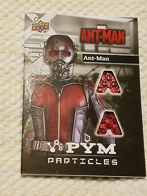 2015 Upper Deck Marvel Ant Man relic material card the Wasp PT-AM