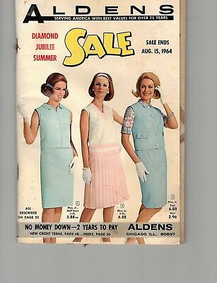 Aldens diamond jubilee summer catalog 1964