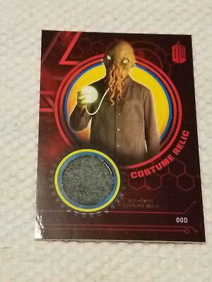 Doctor Who Extraterrestrial encounters wardrobe material relic card OOD #4 OF 10