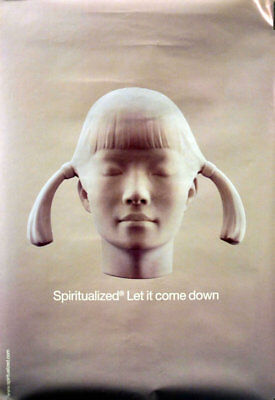 Spiritualized Let It Come Down poster UK promo 19 X 27 ARISTA RECORDS 2001