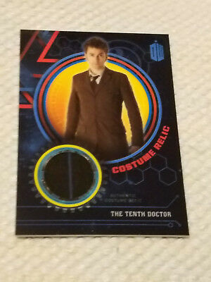 Doctor Who Extraterrestrial costume BLUE relic card TENTH DOCTOR 78/99