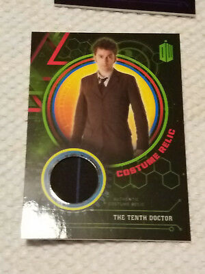 Doctor Who Extraterrestrial costume GREEN relic card TENTH DR 66/199