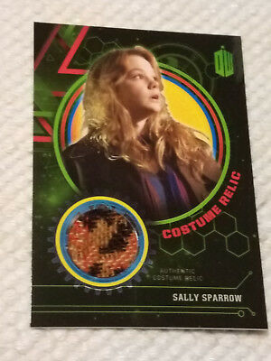 Doctor Who Extraterrestrial costume GREEN relic card SALLY SPARROW 4/199