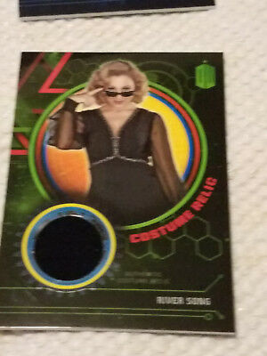 Doctor Who Extraterrestrial costume GREEN relic card RIVER SONG 21/99