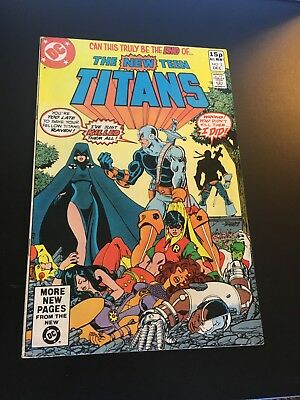 New Teen Titans #2 (Dec 1980 Dc) 1St App Of Deathstroke George Perez Fn+!