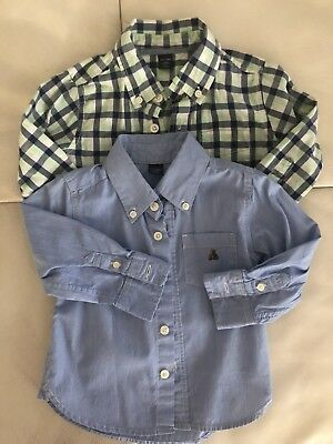 Baby Gap Baby Boys Button Down Long Sleeve Shirts  Size 18-24M