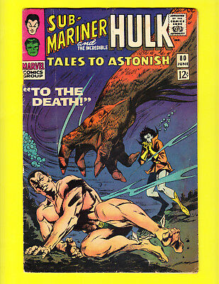 Tales To Astonish #80 - Marvel Silver Age - Nice Condition