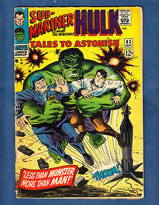 Tales to Astonish #83 - Marvel Silver Age - Good Readers Copy
