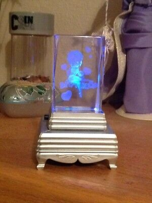 Betty Boop Glass Block With Changing Lights