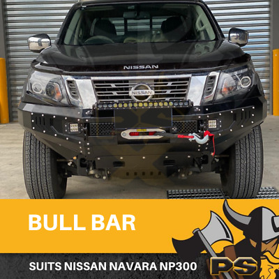 Bull Bar Winch Bar + Lights To Suit Mitsubishi Triton Mq 2015-2018