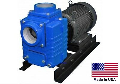 """CENTRIFUGAL PUMP Industrial - 520 GPM - 10 Hp - 230V - 1 Phase - 4"""" Ports"""