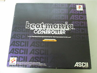 PS1 Sony PlayStation PS Beatmania Controller Boxed JP No.512