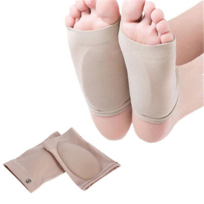 GEL ARCH Support Plantar Fasciitis Sleeve Cushion Foot.Pain Heel Insole Orthotic