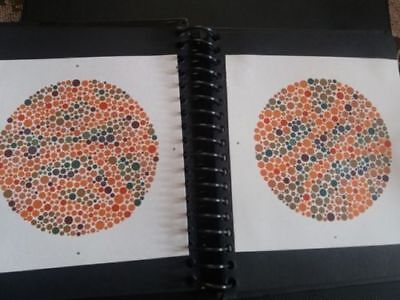 Ishihara Test Book Color Vision Book Optometry Ophthalmology Books Ophthalmic FS
