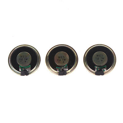 3 Pieces Round Micro Speaker Loudspeaker 30mm 8Ohm 8R 1W DIY Arduino Repair  Z