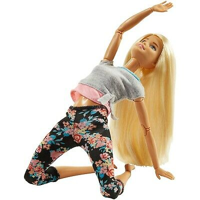 Doll Barbie Articulated Blonde Hair