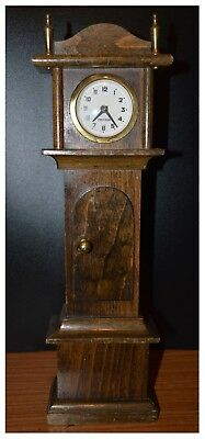 Vintage Miniature Grandfather Clock