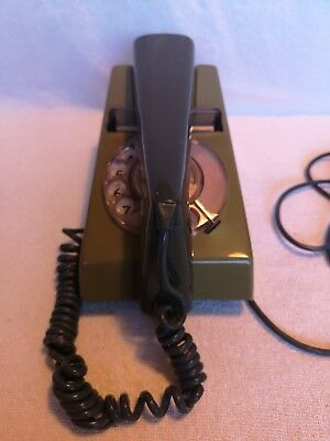 Vintage 1970s Two Tone Trimphone Olive and Green
