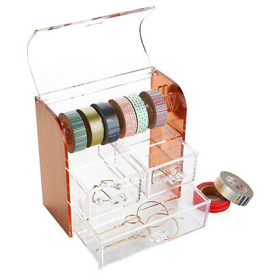 Home Desktop Tape Dispenser Washi Tape Cutter Roll Tape Holder Organizer Storage