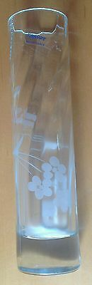 rayware, occasions cut-crystal vase etched glass