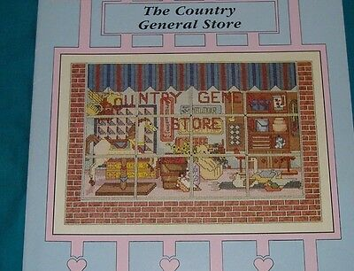 Buy4=Freeship  Cross Stitch Book The Country General Store Storefront Collection