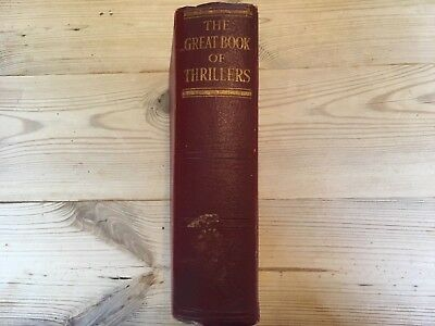Antique Book The Great Book of Thrillers