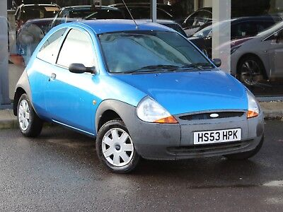 2004 FORD KA 1.3 HATCH 3dr - SHORT MOT - ONLY 54535 MILES - GREAT COLOUR!