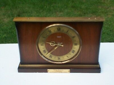 Old Clock Tempora Battery Smiths Sectronic Railway Interest