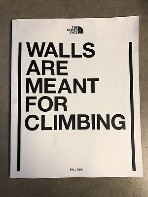 The North Face Catalog Stickers - Walls Are Meant For Climbing