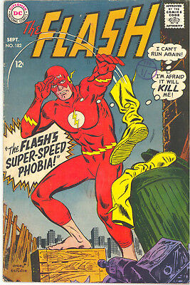 Dc Comics Flash - 182, September 1968 (Barry Allen) Rare Silver Age Issue