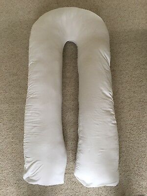 Classic U-Shaped Pregnancy Pillow - White. From Snuggle Up. Used