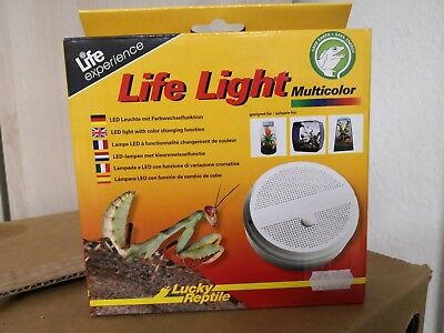 Lucky Reptile Life Light Multi Color - LED Leuchte mit Farbwechselfunktion
