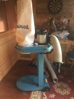 woodworker 790 dust extractor charnwood