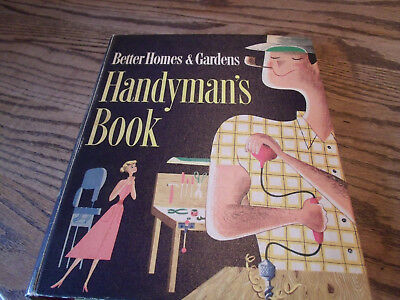Vintage Better Homes and Gardens Handyman's Book-1957 Fifth Printing