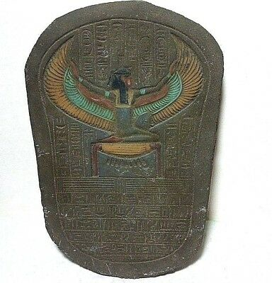 RARE ANCIENT EGYPTIAN ANTIQUE ISIS Stela 1758-1296 BC Isis Tomb