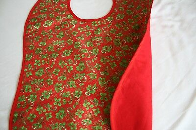 Christmas - Adult size /clothing protection / bibs in a festive print fabric