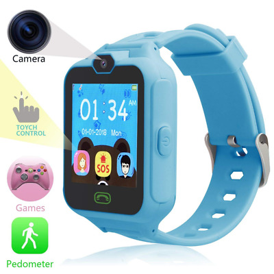 phone watch for Kids Smart with Digital Camera Touch Screen, Game Cool Toys NEW