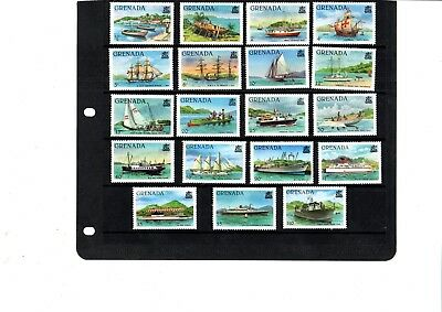 A  Unmounted Mint Set From Grenada Boats/ships