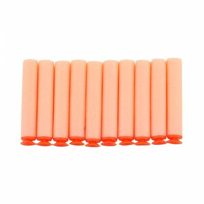 10 pcs Orange Soft Flexible Eva Bullets Bullets For Nerf Blaster Toy Gun AY