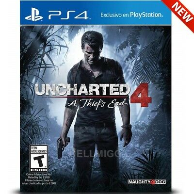 Uncharted 4 - A Thief's End - PlayStation 4 Game Disc - PS4 (Latest)