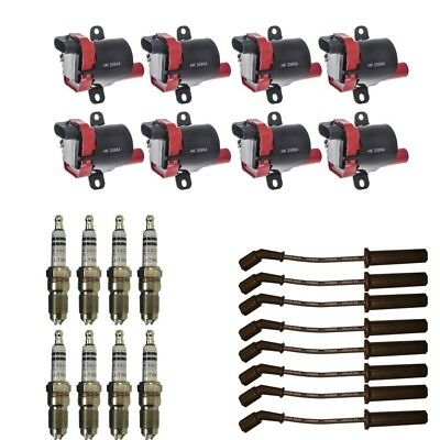 4 ACDelco Coils /& 4 Herlux Spark Plug Wires /& 4 Pigtails For LS2 LS4 LS7