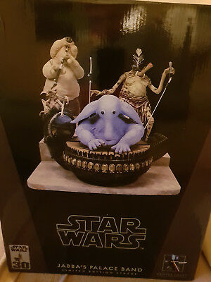 Star Wars Jabba's Palace Band Limited Edition Statue von Gentle Giant