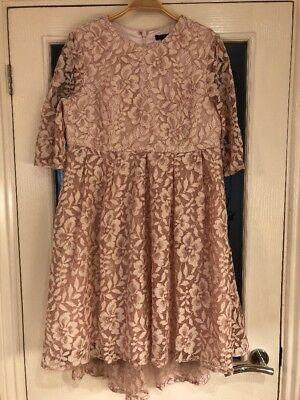 Ladies Clothes Size 10 ASOS Maternity Chi Chi Lace Occasion Dress Party Wedding