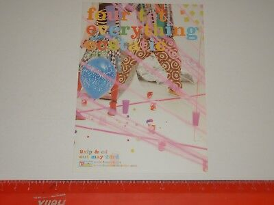 Four Tet ‎– Everything Ecstatic - A6 Card Flyer