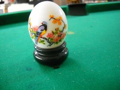 AVON 1974 ORIENTAL Imperial garden EGG CHINESE PHEASANT CHARISMA COLOGNE 3/4 FUL